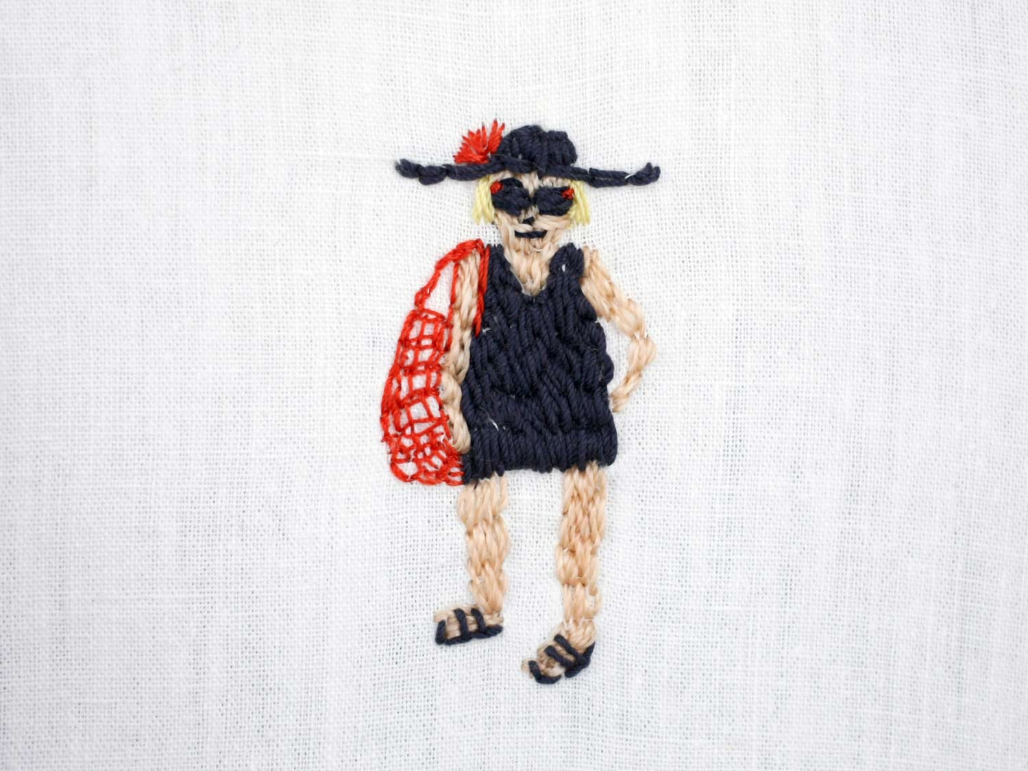 Broderie personnages