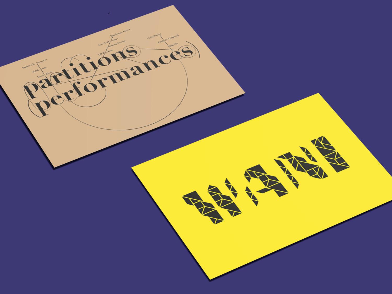 Carton d'invitation Fondation d'entreprise Ricard