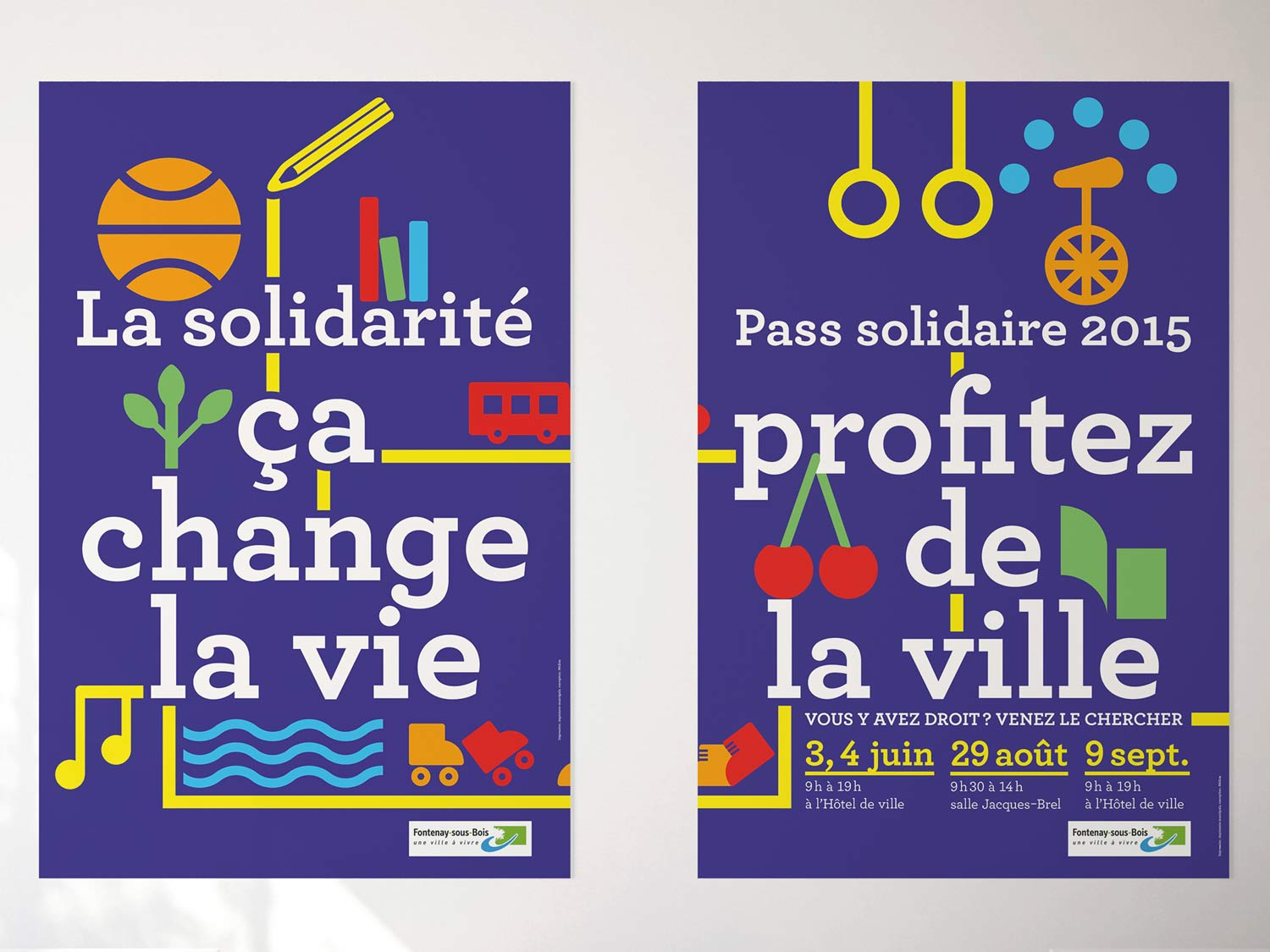Pass solidaire 2015, affiche