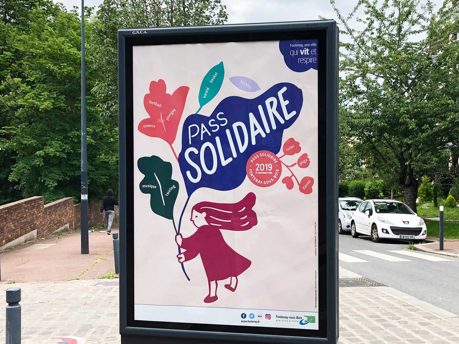 Pass solidaire 2019, affiche