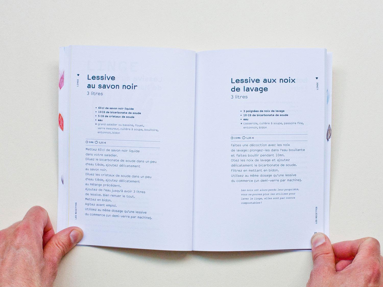 Livre 25 recettes de produits ménagers